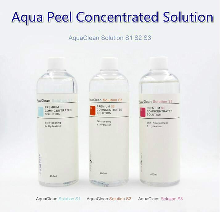 2018 neue Ankunfts-Aqua Peel konzentrierte Lösung 400 ml pro Flasche Aqua Gesichtsserum Hydra Gesichtsserum für normale Haut Aqua Clean Lösung
