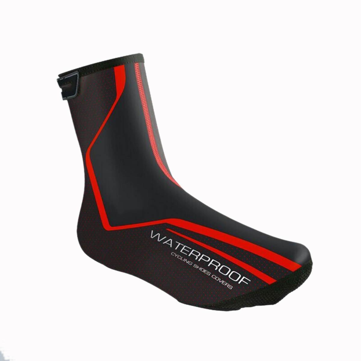 PU Tissu 1 paire Camping Randonnée Chaussures Couverture Résistant À L'eau Zipper sur le dos Support De Cheville Sport Chaussures de sécurité Couverture Pour Unisexe