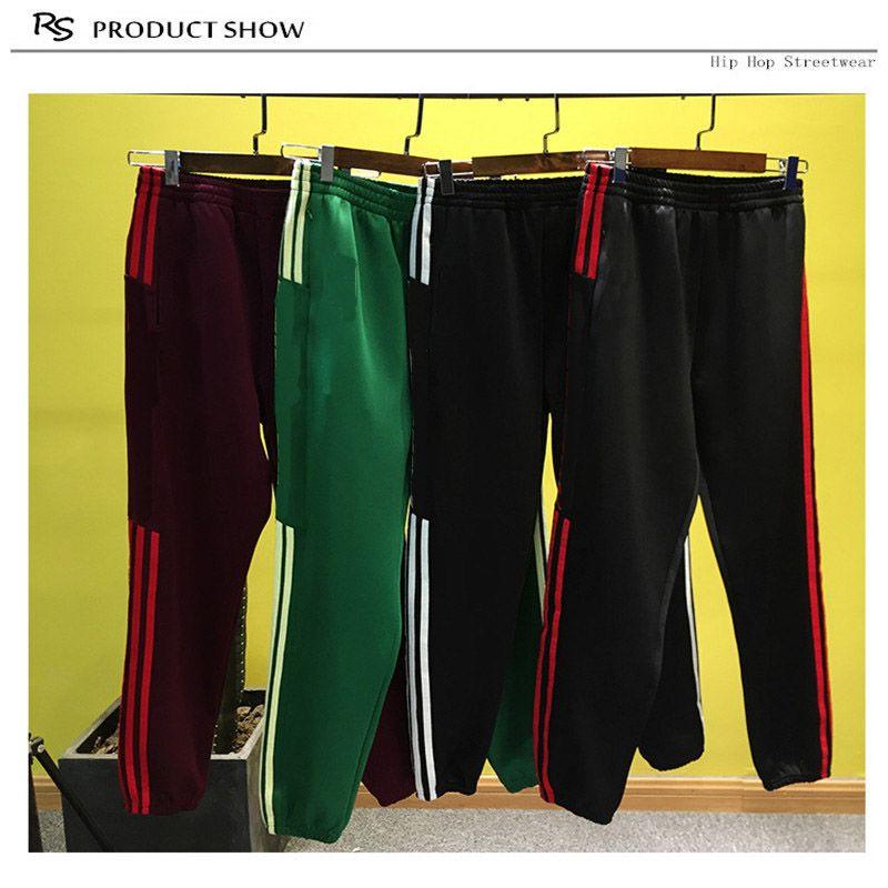 Fashion Luxury Designer Men Pants Sweatpants Hip Hop Sport Joggers Streetwear Top Quality Pants Elastic Waist Clothing S-3XL