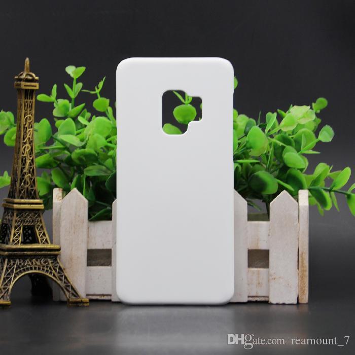 8 x PCS Plástico de sublimación 3D para caja en blanco Samsung White S9 Plus 10 Funda mate al por mayor iPhone JUXMW