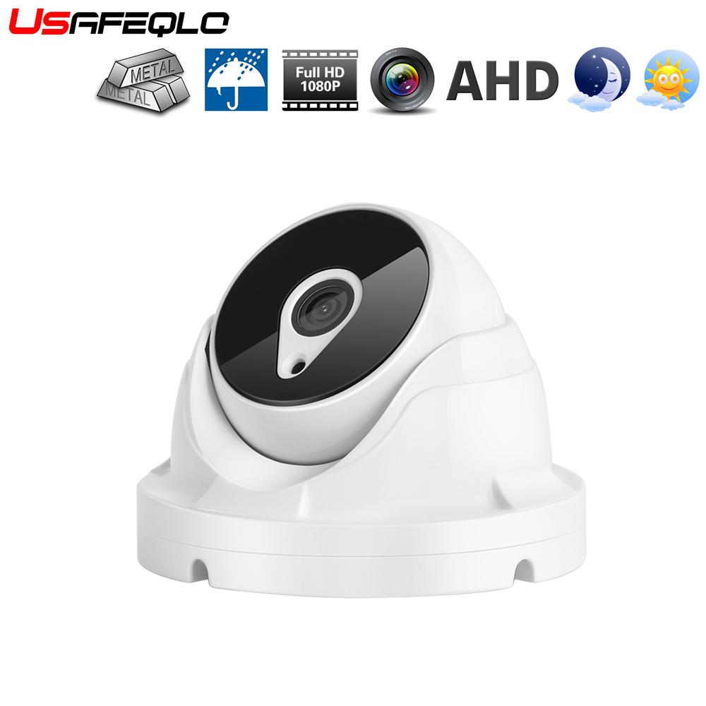 AHD 1080P 2.0MP 2.8MM 3.6MM Dome Mini Metal Outdoor Indoor CCTV Security Camera
