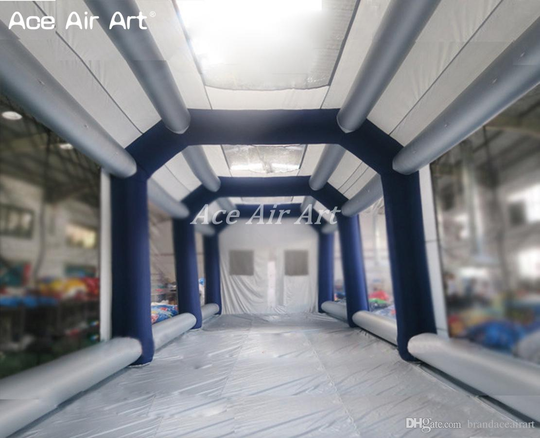 Portable Paint Booth >> 2019 Inflatable Spray Booth Cube Inflatable Car Spray Paint Booth