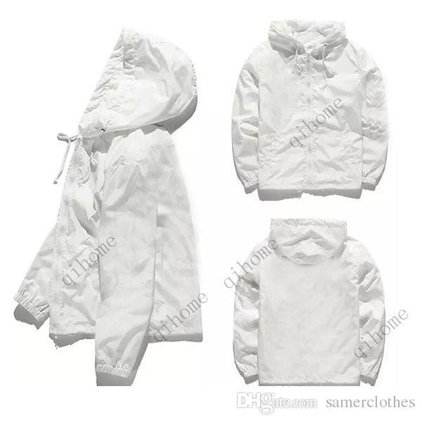 New Jacket For Men Hip Hop Windbreaker Man Zipper Jackets Men Waterproof Streetwear Outerwear Uniform Coat For Man