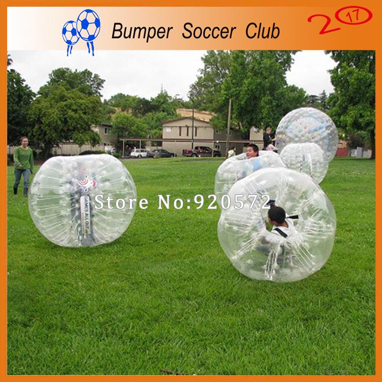 Free Shipping 1.2M Inflatable Bubble Soccer Ball Outdoor Toys For Kids Bumper Ball Bubble Ball Zorb Balloon Loopy Football