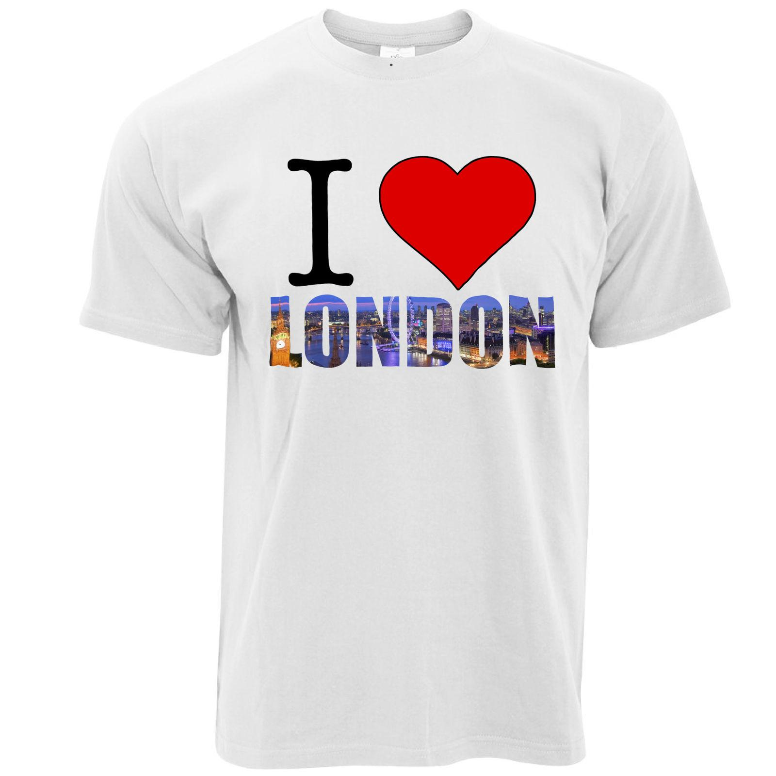 Tourist T-Shirt Ich liebe London England Slogan