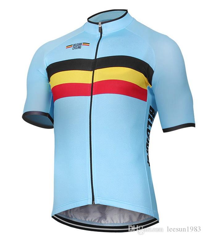 2018 BELGIO NATIONAL PRO TEAM SOLO MANICA CORTA ROPA CICLISMO CAMICIA CYCLING JERSEY CYCLING WEAR SIZE: XS-4XL