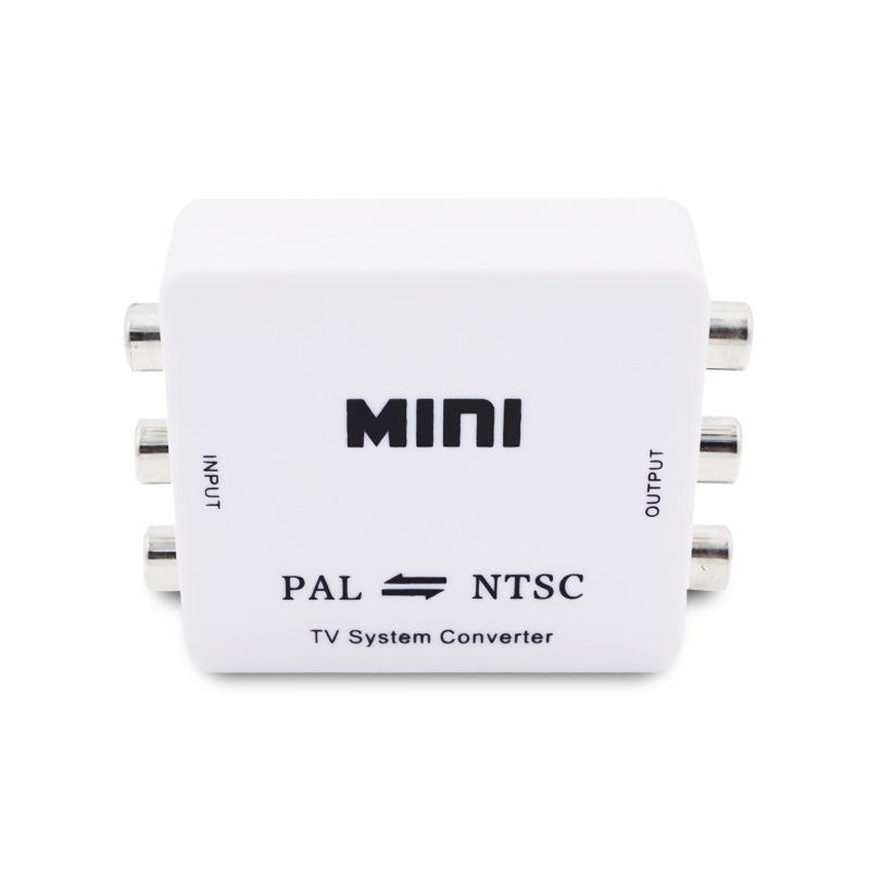 ميني HD PAL NTSC محول نظام تحويل التلفزيون المتبادل لمعدات الفيديو أحادية التنسيق