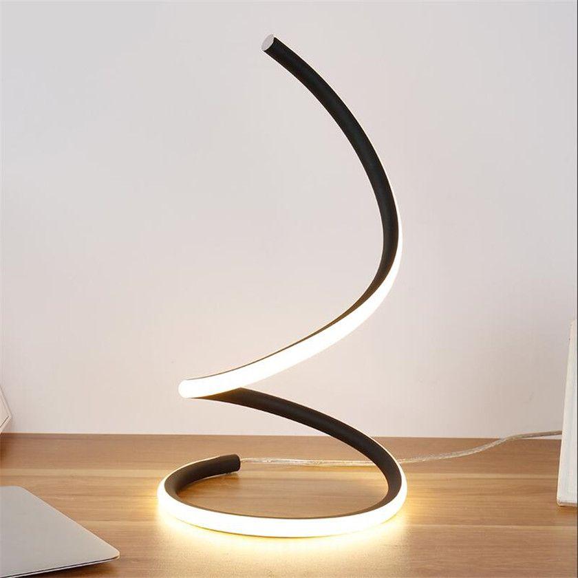 Y Creativa Luz Escritorio Para Luz Noche Dimming Moderna Protección De Mesa Para Estar LED Dormitorio Lámpara Sala De Ojos Abajur De Compre Los De wkOP8n0