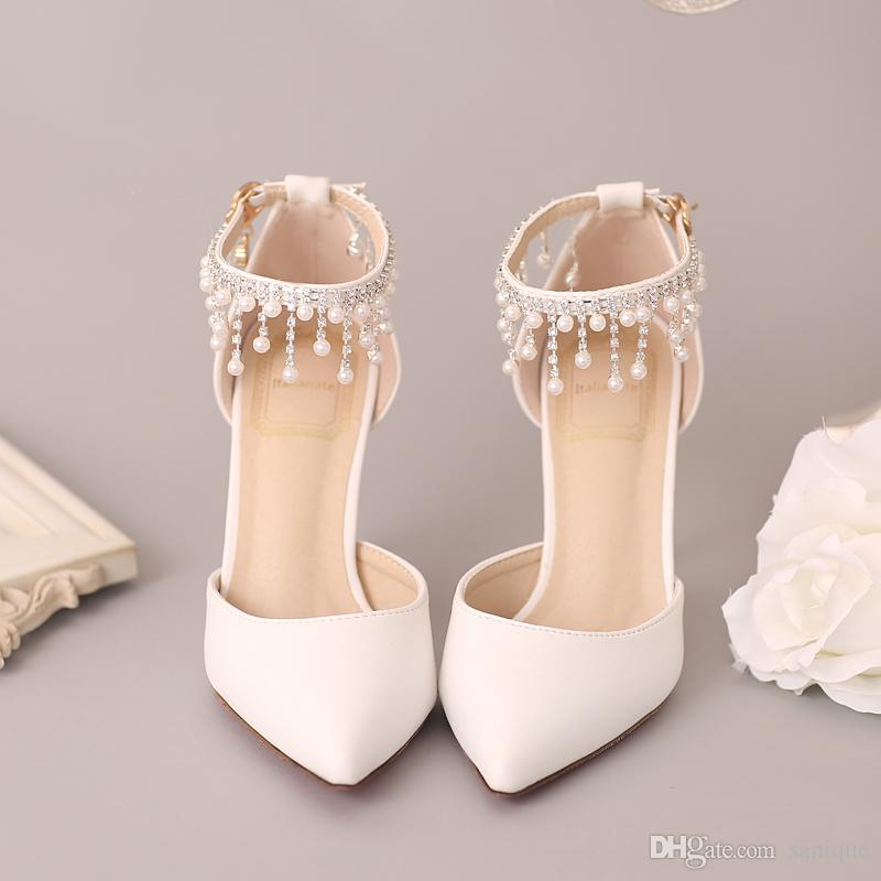women fashion satin wedding shoes peep toe high heel bridal sandals bridesmaid shoes prom party dinner evening shoes