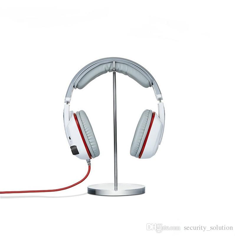 50pcs / lot titolare Acrilico di alta qualità per cuffie Display Stand Stand Headset