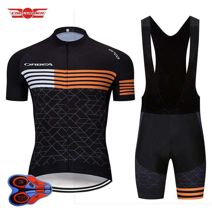 Mens Cycling Bike Jersey Kits Men Pro Biking Shirts Quick Dry Bicycle Half Pants