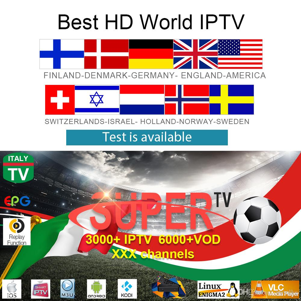 Marvel HD Europe IPTV Subscription 1 Year Nordic Sweden Israel Dutch France  Germany UK USA Super Italy Adult M3U For MI X96 TV Box Home Movie