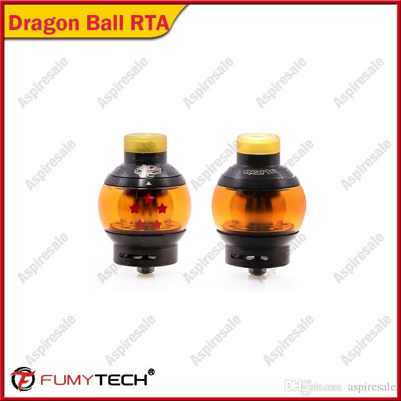 100% D'origine Fumytech Dragon Ball RTA Réservoirs Vape Réservoirs 5.5 ml Capacité Top Recharge Cigarette Vaporisateur Atomiseur