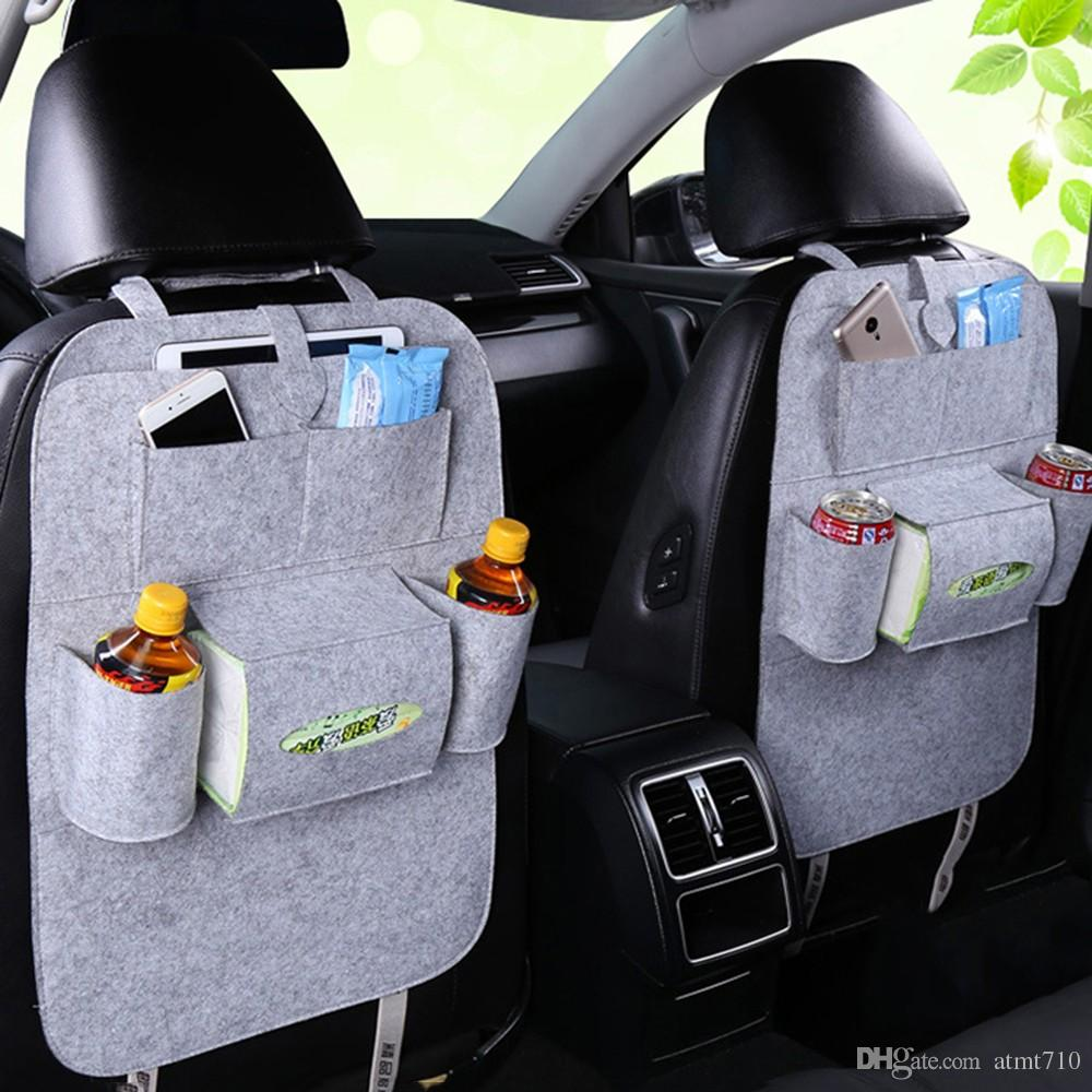 KKmoon Car Soft Storage Box Trunk Bag Travel Storage Organizer Holder Car Accessories Deep Grey