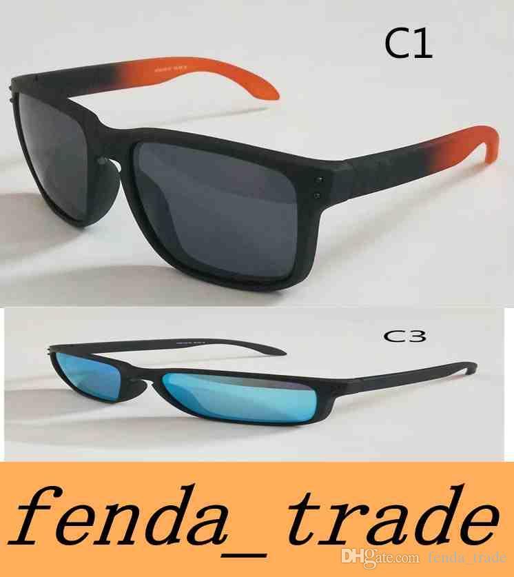 Brand TR90 Picture frame 2018 NEW man women brand sunglasses Designer High quality polarizedlens sunglasses color11 MOQ=5
