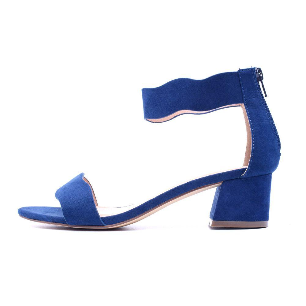zapatos de separación cec26 5a00b Compre 2018 Sandalias De Mujer Sandalias De Punta Abierta De Verano Zapatos  De Tacón Bajo Zapatos De 5CM Zapatos De Gladiador Azules Negros A $27.27 ...