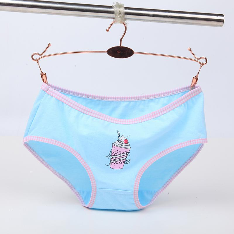 Women's Print Cartoon Panties for Laidies Women Underwear Soft Women Lingerie Comfortable Briefs 2018 New Design Wholesale