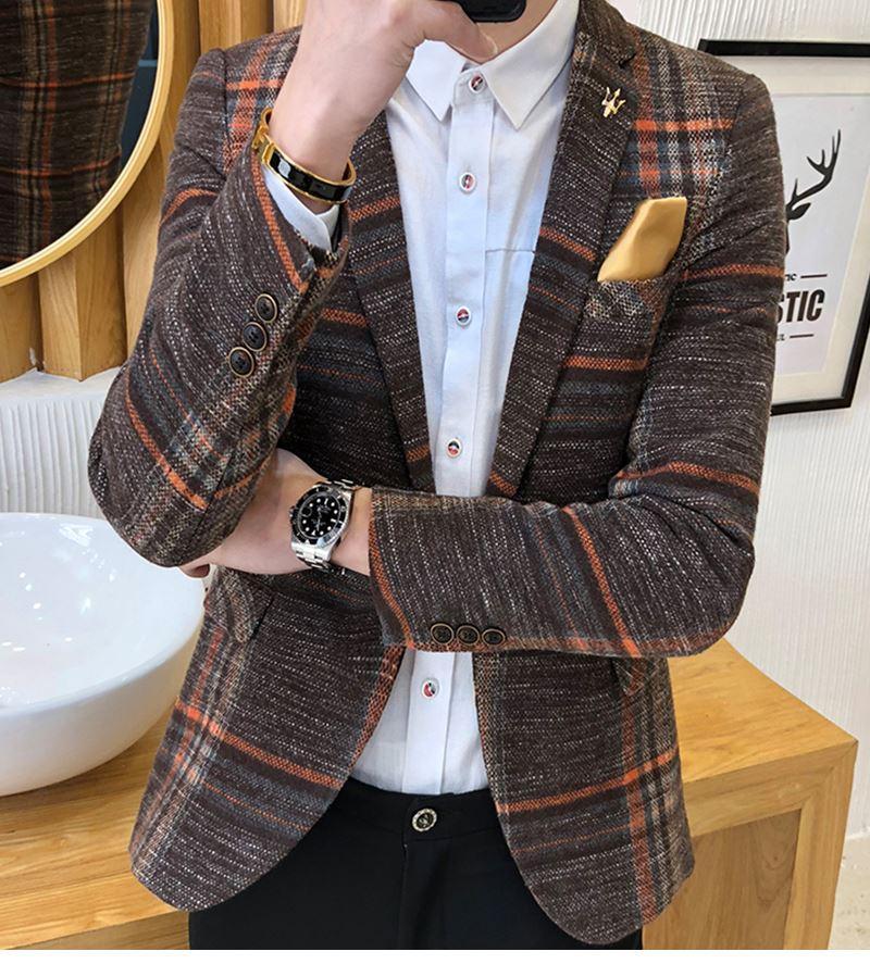 Suit Collar Men Jacket (8)
