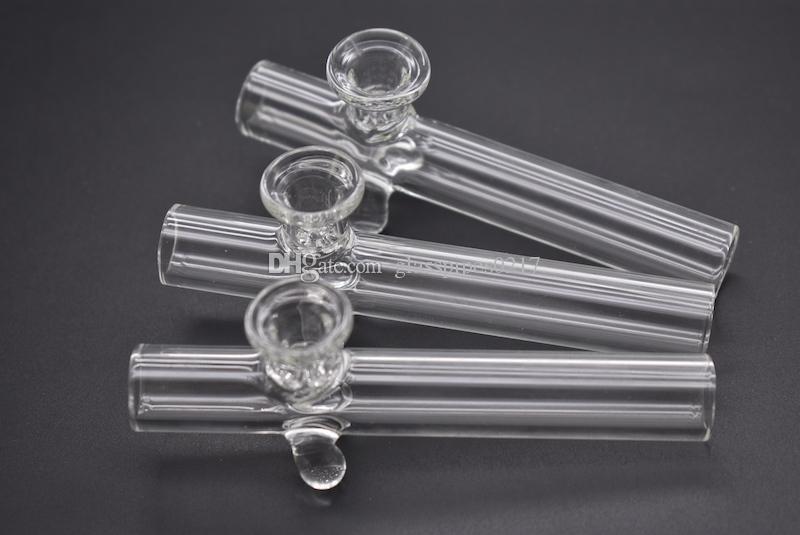 Filtre kabı yüksek kalitede açık Steamrollers cam el tütün boru elle kuru ot boru Laboratuar sigara pipo