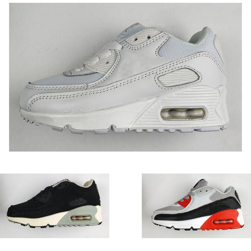 Acquista Nike Air Max 90 Dimensioni BABY Eur 26 35 Cuscino Da 90 Cuscino Da Corsa Di Alta Qualità 90 Scarpe Da Ginnastica Scarpe Da Ginnastica ...