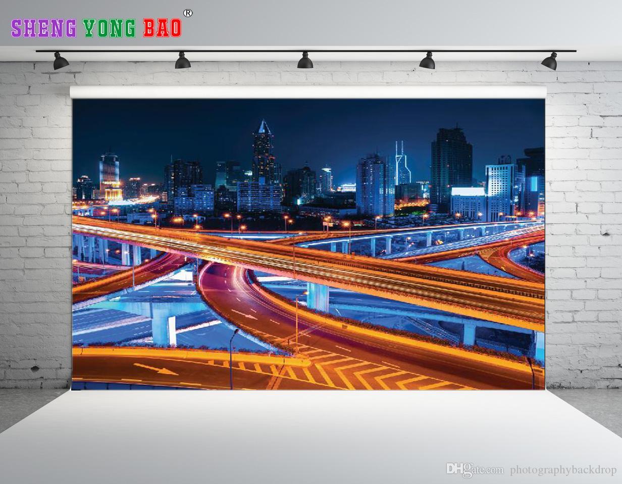 SHENGONGBAO Vinyle Personnalisé Paysage thème Vinyle Photographie Décors Prop Personnalisé Photographie Contexte NTZP-139