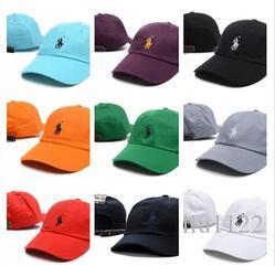 2018 Arrivées Unisexe Femmes Hommes Casquettes de Baseball Boule Casquettes Polyester Réglable Plaine Golf Classique Mode os Snapback gorra casquette chapeau de chapeau