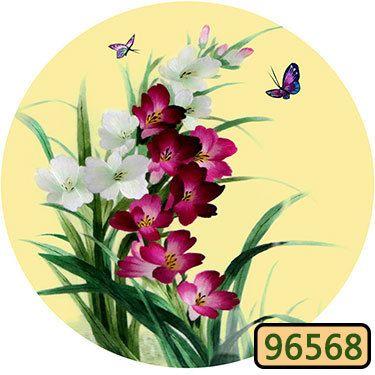 DIY niedokończony 100% Morberry Silk Suzhou Hafty Wzory Zestawy Ręcznie robione Zestawy Robótki Kwiat Peonia