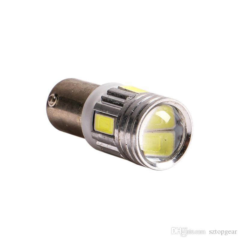 20pcs T11 T4W BA9S H6W 1895 1SMD LED 12V Turn Signal Dashboard Light Bulbs White