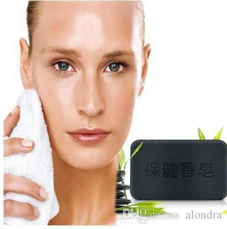 Sabão de carvão de bambu para rosto e corpo antipruriginoso anti turmalina sabonete de turmalina remover acne hidratante branqueamento corpo