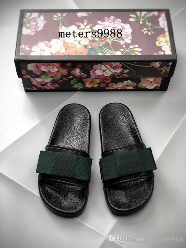 Mens e womens fashion ribbon bow sandálias de slides plana chinelos meninos meninas praia causal chinelos tamanho euro 35-45