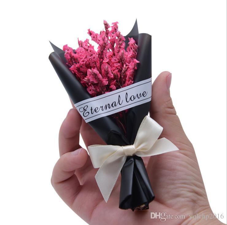 Фото реквизиты высушенные цветы хрустальные травы мини букет парфюмерные украшения букет подарок маленькие подарки