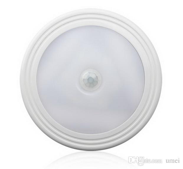 Wireless PIR LED Motion Sensor Night Light 100 Degree Auto On/Off Closet Magnetic Back Wall Wardrobe Cabinet Lamp Battery Power For Bathroom