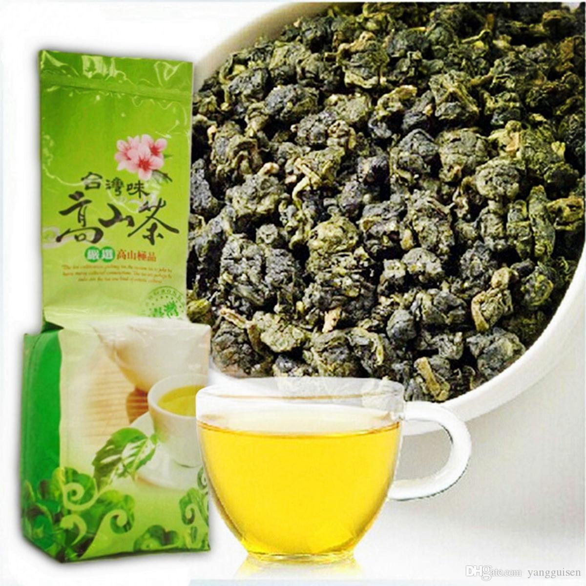 250g orgânico verde chá chinês Superior Taiwan Destaque chá Oolong Leite Saúde chá novo Spring Green Promoção Food