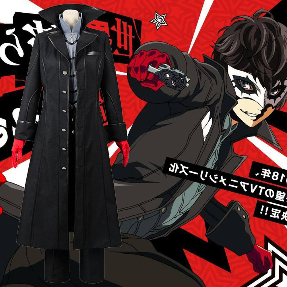Cosplay Costume Persona 5 Joker Anime Cosplay Full Set Uniform For Party Halloween Couple Costumes Kids Costumes From Prime03 92 56 Dhgate Com