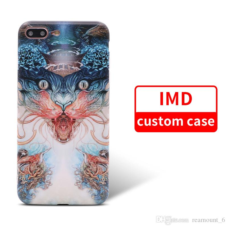 DIY Design Personalized IMD Soft Case for iPhone 9 9 Plus Samsung note 9 Logo Printing Mobile Phone Back Cover Shell