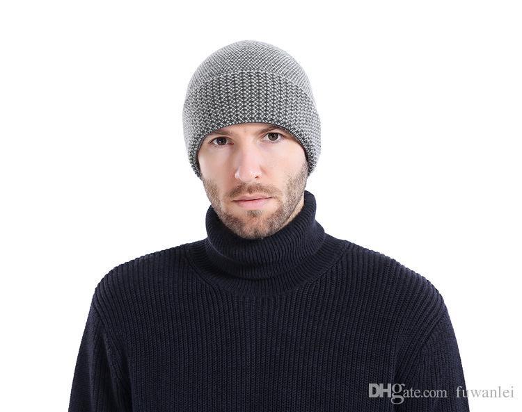 New Beanies Men Hat Winter Hats For Men Women Knit Hat Caps Skull Brand Bonnet Casual Skullies Warm Cap Black Winter Beanie 2018