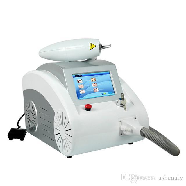 3 في 1 المحمولة س آلة تبديل YAG آلة الليزر الوشم إزالة الجلد تجديد الصباغ إزالة الصباغ استخدام صالون