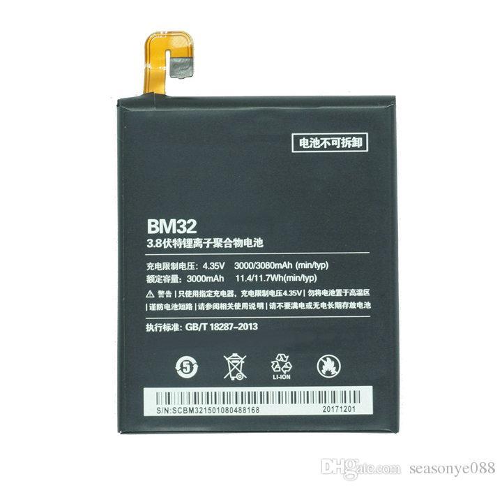 1x 3000mAh / 11.4Wh BM32 / BM 32 Mobile Phone Replacement Li-Polymer Battery For Xiaomi Xiao Mi 4 M4 Mi4 M 4 16GB 64GB
