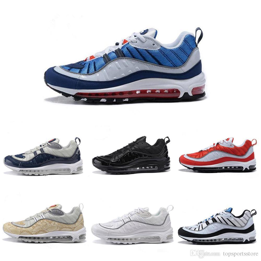 Nike Air Max 98 Supreme, Chaussures de Running