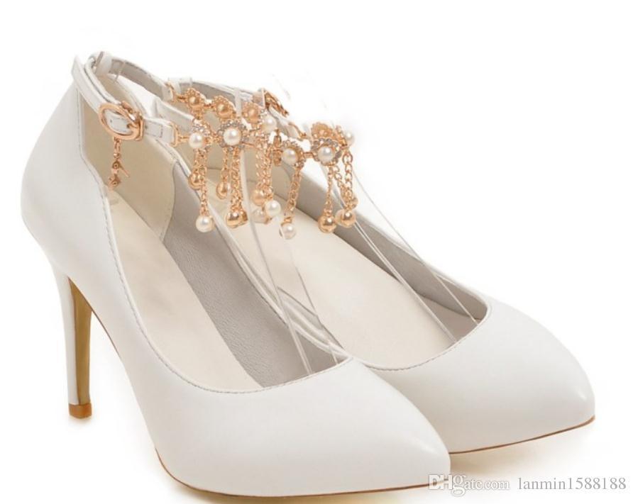 Free send 2017 spring high heel Fine heel waterproof table water drill Women's Shoes