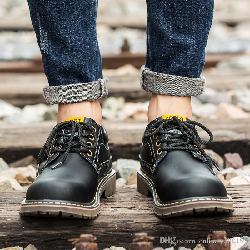 Саженец мужские сапоги уличная обувь мужчины дышащая кожа резина тактический ботинок мужская новый туризм охота обувь человек