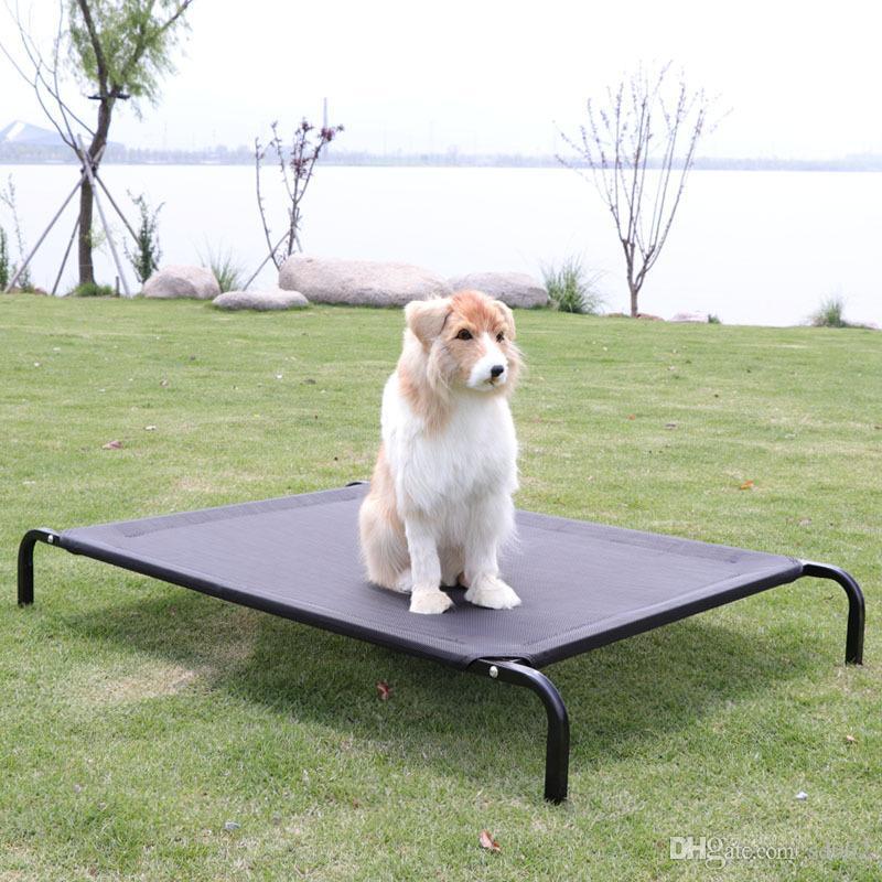 켄넬 이동식 여름 푸들 골든 리트리버 강아지 고양이 둥지 집 침대 애완 동물 매트리스 용품 비계 캠핑 매트 37qs4 bb