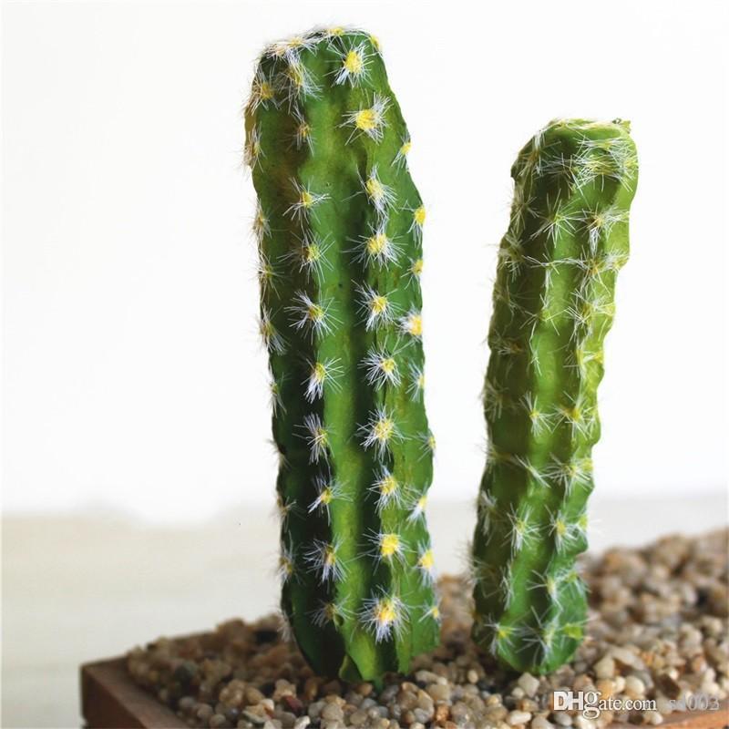 Популярные моделирование сочные растения DIY искусственный кактус цветок головы мода украшения дома тропические растения горячие Продажа 2 6 см dd