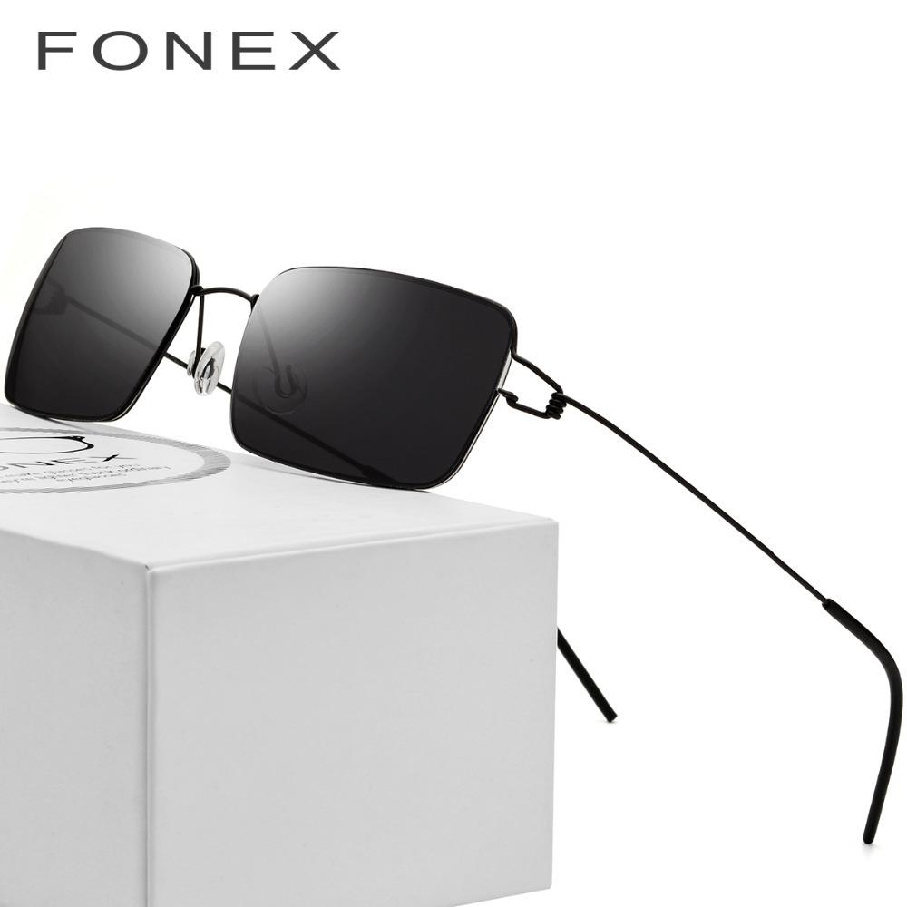 X907 Screwless Eyewear Men Square Sunglasses Ultralight 2018 Women Famous Brand Designer Korean Moon Jae-in Denmark Maui Sun Glasses