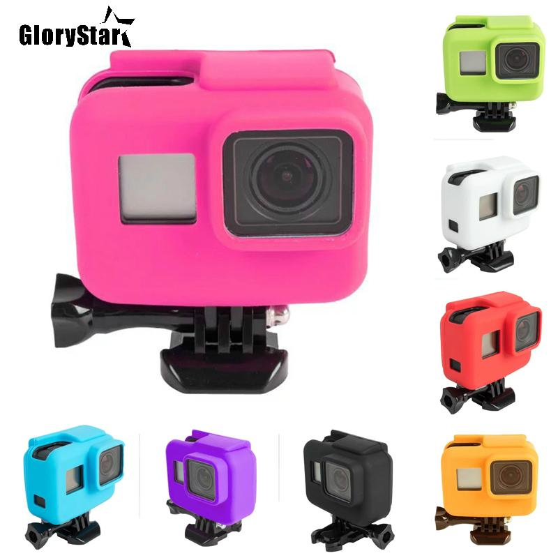 Silicone Rubber Case Protective Cover Fpr GoPro Hero 5 6 7 Accessories Too Good
