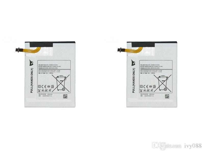 """2 قطعة / الوحدة 4000 مللي أمبير EB-BT230FBE استبدال البطارية لسامسونج غالاكسي تبويب اللوحي 4 7.0 7.0 """"الزواية T230 T231 T235 SM-T230 SM-T231 SM-T235"""