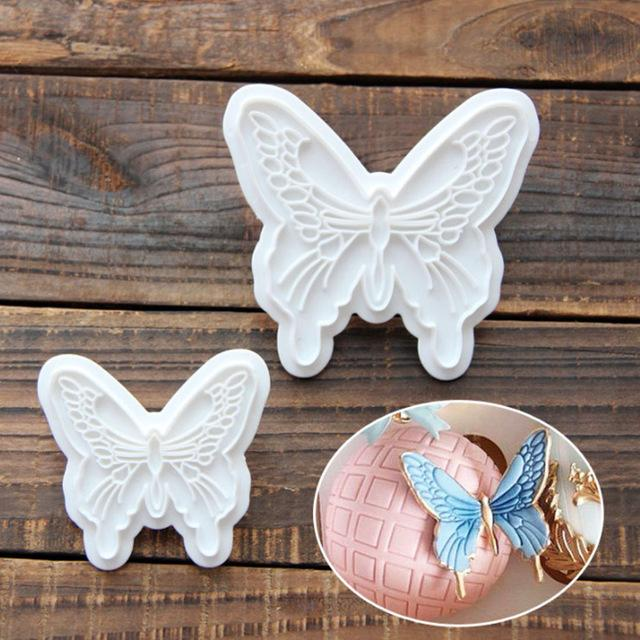 angel wings cookie molds stainless steel decoration cookie cutter baking too Kh