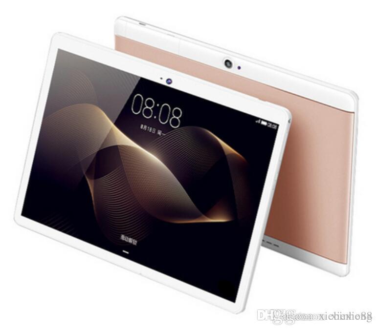 2018 고품질 옥타 코어 10 인치 MTK6582 IPS 용량 성 터치 스크린 듀얼 시뮬레이션 3G 태블릿 전화 PC 안드로이드 6.0 4 기가 바이트 64 기가 바이트