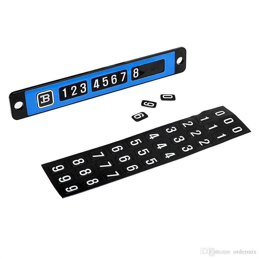 Racing Numbers Vinyl Decal Sticker 630 Plate Numbers Style 8