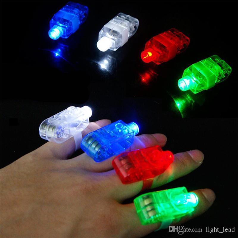 LED Finger Lamps Bling Colorful Super Bright Finger Rave Finger Lights led lights For Party Concert Vocal concert